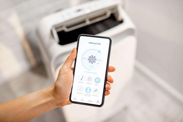 parkair controlling air condition with a smart phone KA7RU63